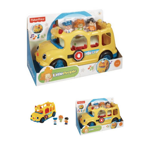 fisher price little people school bus at the discount toy. Black Bedroom Furniture Sets. Home Design Ideas