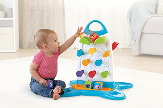 Fisher Price Roller Blocks Play Wall The Discount Toy