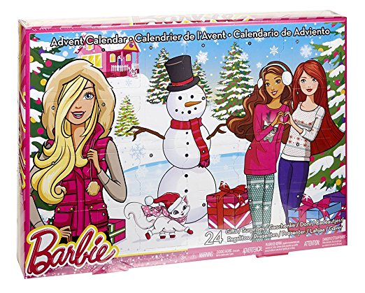 BARBIE ADVENT 1