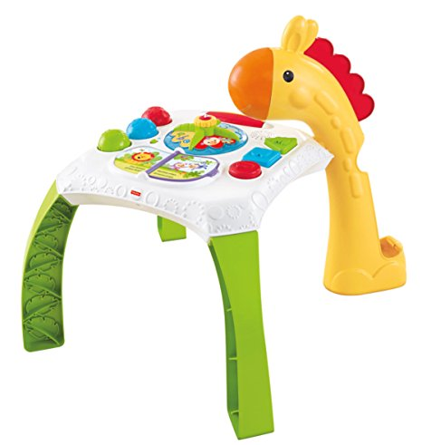 Fisher price animal friends learning table the discount toy shop ltd - Table activite fisher price ...