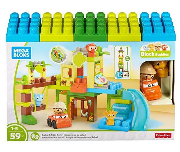 Mega Bloks Swing And Slide Safari The Discount Toy Shop Ltd